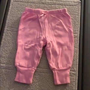 Baby Pink Sweatpants with Bow